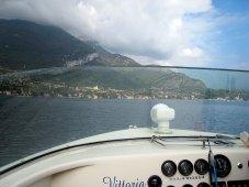 The boat ride to Villa del Balbianello