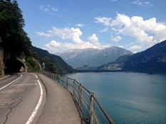 This is the road the bus travels on to St. Beatus - talk about a beautiful ride!