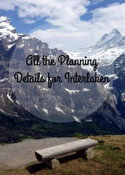 Planning Details Interlaken